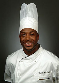 Chef Kevin Mitchell, Chef Instructor at the Culinary Institute of Charleston